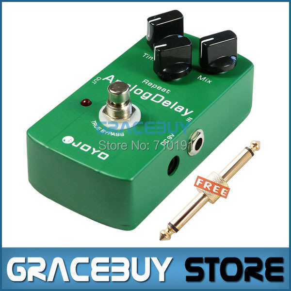 Free Shipping JOYO JF-33 Analog Delay Drive Electric Guitar Audio Effect Pedal True Bypass 1PCS