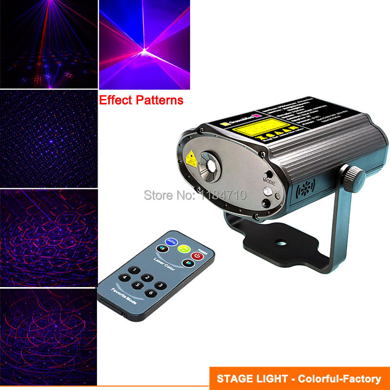 new mini Lines gobo Red blue DJ laser Projector dance Disco bar Party Xmas effect Stage lighting Light Show wireless remote B41(China (Mainland))