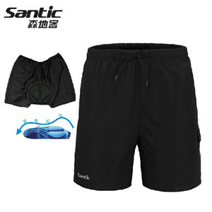 SANTIC MTB Cycling Shorts Shortpants 3D Padded Bike Bicycle Cyling Wear Sportswear M-3XL