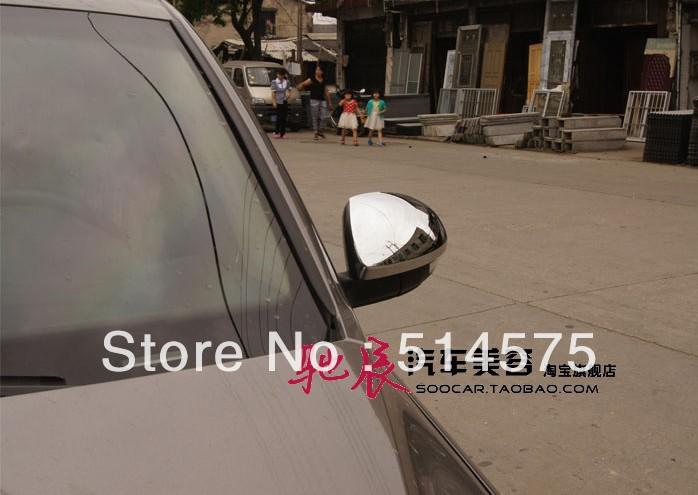 volkswagen VW Tiguan 2009-2012 ABS Chrome mirror cover 2 pieces<br><br>Aliexpress