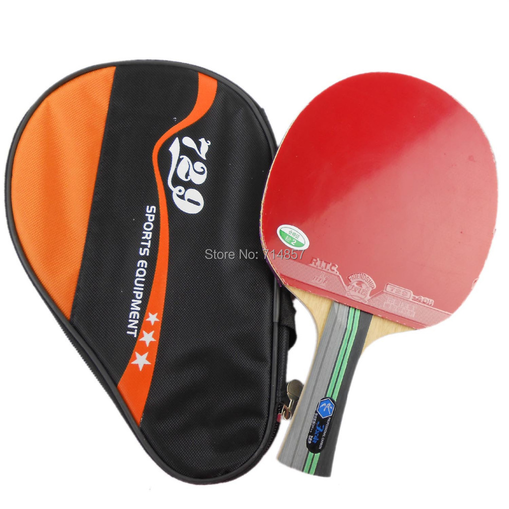 Free shipping, RITC729 3 STAR (3STAR, 3-STAR) Pips-In Table Tennis Racket<br><br>Aliexpress