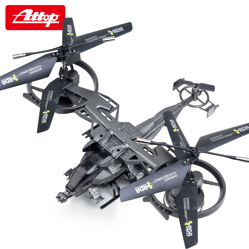 Attop YD-711 Four Channel Remote Control Aircraft Large Model Aircraft Remote Control Helicopter Quadcopter Avatar #E(China (Mainland))