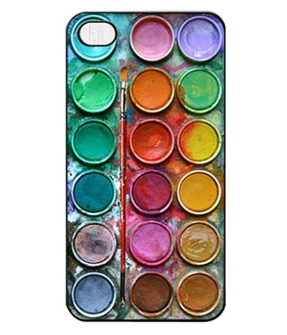 4.7 Inch Retail New Fashion Cool Color Paintbox Design Custom Painted Hard Plastic Protective Phone Case Cover Iphone 6 6G - FashionPhoneCase store