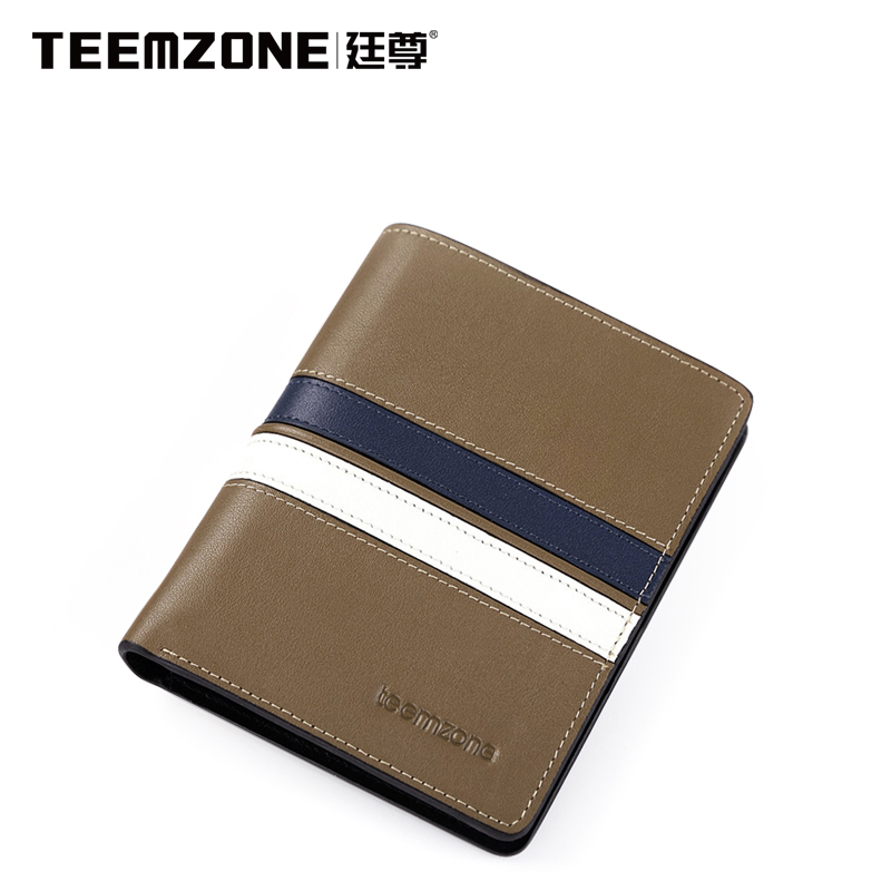 statue man Purse Wallet New Leather short Korean version of the first layer of cow leather wet spell color Clip Notes<br><br>Aliexpress