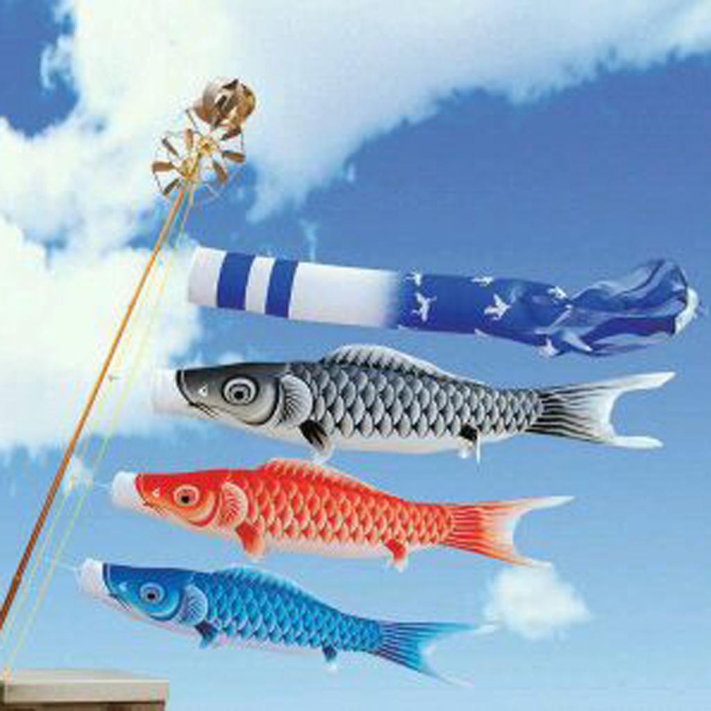 Hot 70cm Japanese Style Colorful Windsock Carp Wind Sock Flag mini Koinobori Gifts Fish Wind Streamer Home Party Decorations(China (Mainland))