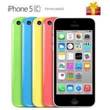 Buy Unlocked Original Apple iPhone 5C Cell Phone 4.0 inch Screen Dual Core IOS Mobile Phone 8.0MP WIFI GPS Smartphone Gift for $100.99 in AliExpress store