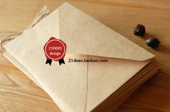 Гаджет  Free shipping 21does vintage cowhide paper envelope storage  decoration envelope 16 times . 11cm b design None Офисные и Школьные принадлежности