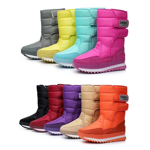 new Boots high-leg boots platform women snow shoes waterproof boots snow boots !Hot sale(China (Mainland))