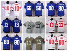 100% Stitiched,New York Giants,Eli Manning,Odell Beckham Jr,eli apple,Victor Cruz,Lawrence Taylor,Phil Simms,customizable.mens()