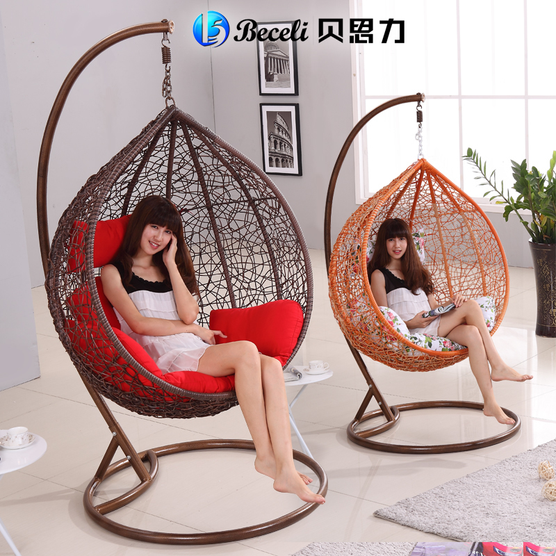 Beth force multifunction cradle adult balcony indoor and outdoor patio wicker chairs rocking chair swing hanging chair hanging c(China (Mainland))