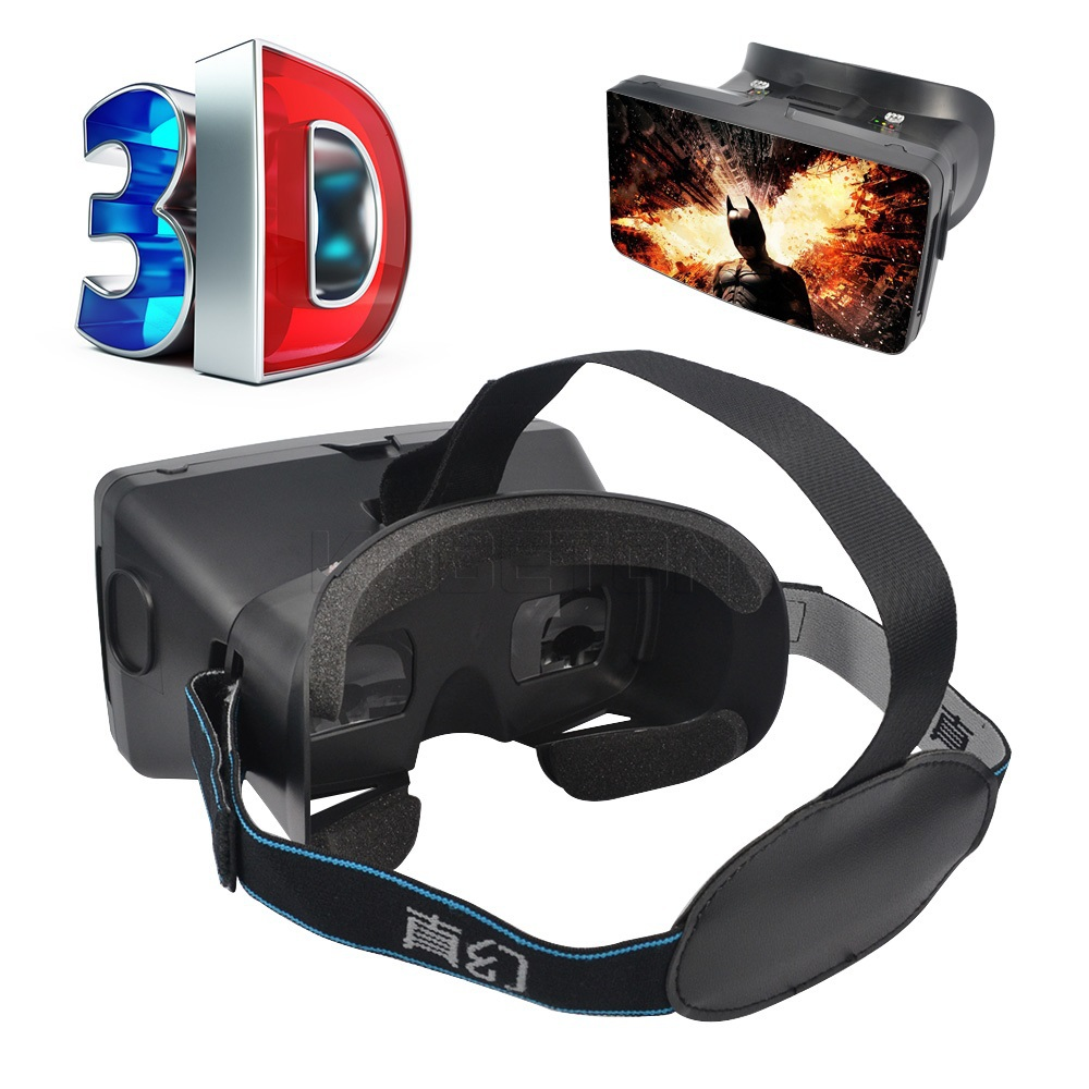 """2015 Virtual Reality Polarized Mobile Phone 3D Glasses II 3D Movies Games With Elastic Band For 3.5"""" to 6"""" Smartphone Screen(China (Mainland))"""