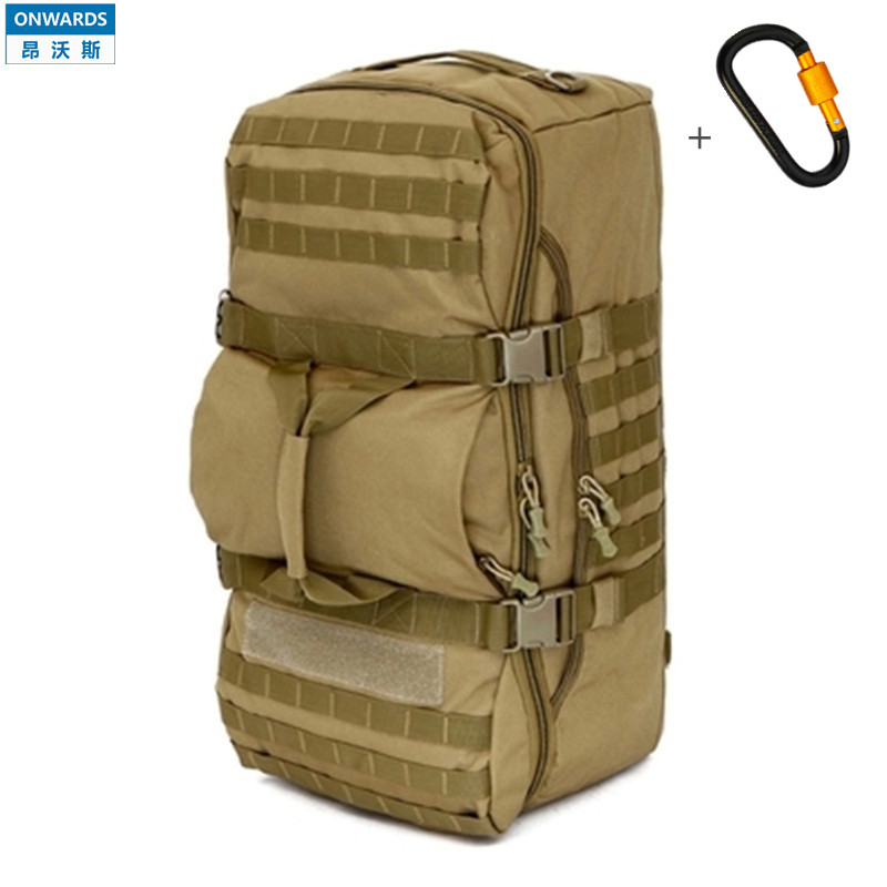 ONWARDS 60L Big Bag Camouflage CampingBags Waterproof Molle Military 3P Tactical Backpack Assault Travel Luggage Bag