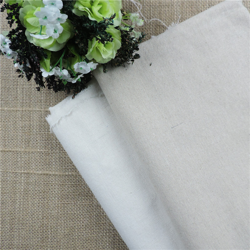 Fabric sale 155 50cm natural linen fabric for patchwork for Sewing material for sale