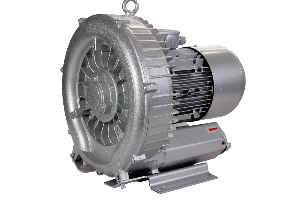 JQT2200 2.2kw 3HP vortex blower with air filter for cnc router(China (Mainland))