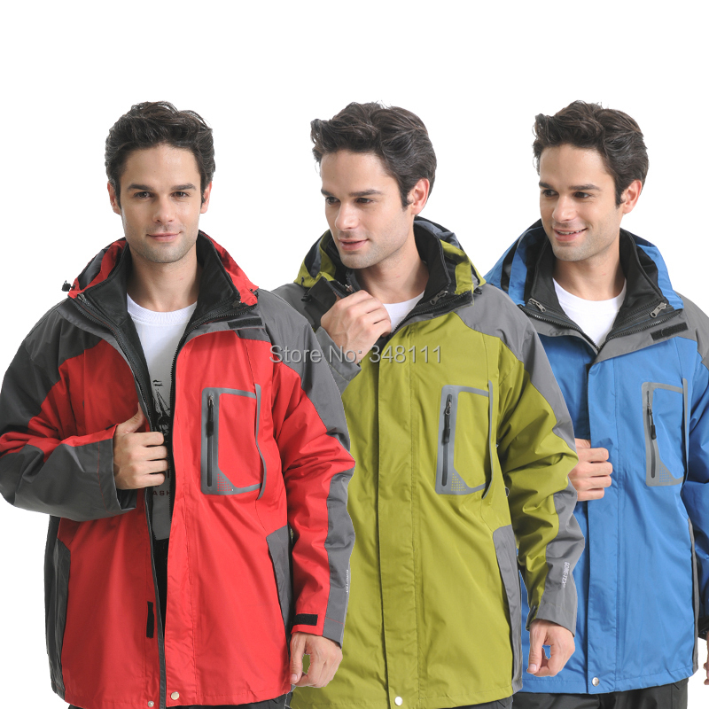 Men outdoor jackets waterproof windproof ski mountaineering camping - Integrity of shop store