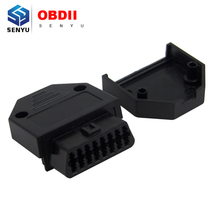 (100 pieces/lot) wholesale J1962F OBD2 16Pin Female connector OBD II auto diagnostic cable adapter(China (Mainland))