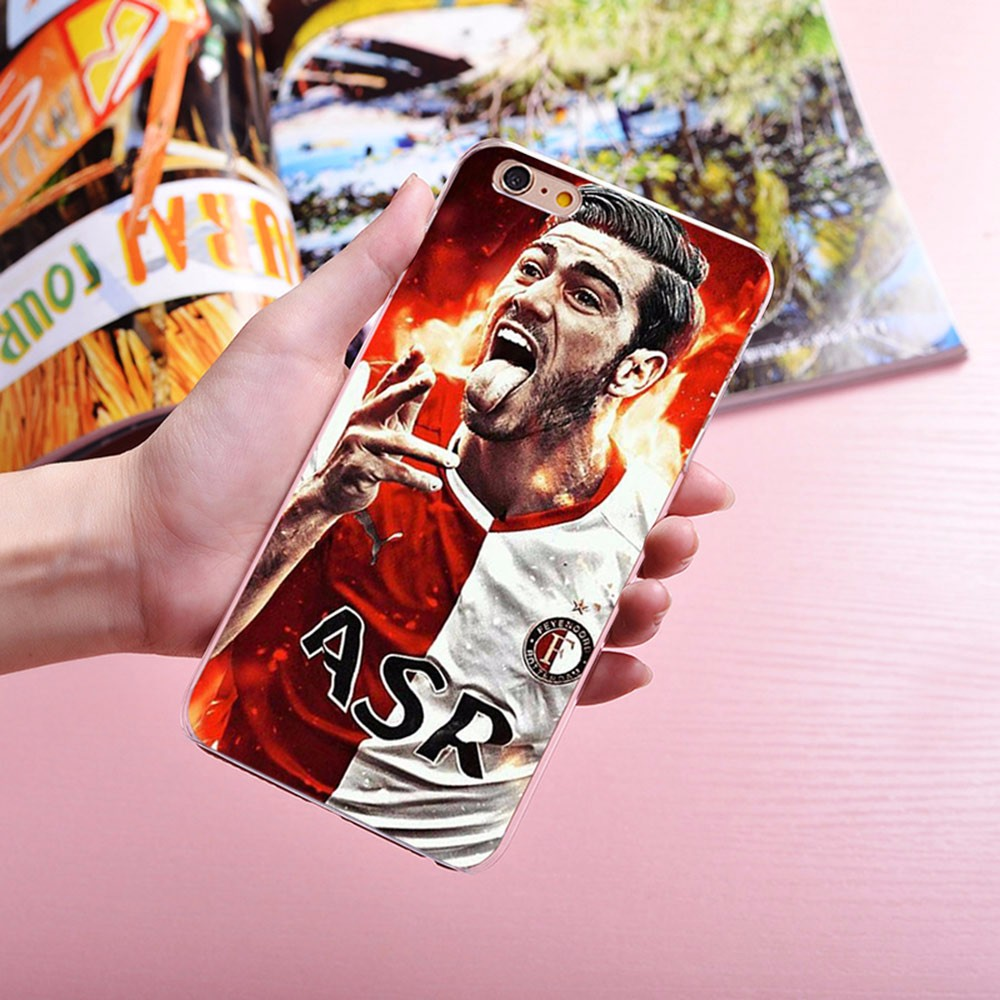 Feyenoord case For iphone 6 plus phone bag cover case transparent coque hard phone cover case for iphone 6 5s 6s se case capa