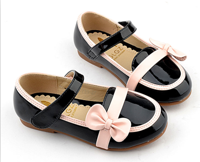 2013 leather girls shoes princess shoes japanned leather cow muscle outsole child female single shoes candy color x3002