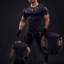 Buy Mens Compression Shirts Bodybuilding Skin Tight Short Sleeves Jerseys Clothings MMA Crossfit Exercise Workout Fitness Sportswear for $7.33 in AliExpress store