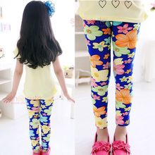 12style choose Baby Kids Children s Cotton Flower Leggings Girl s legging 2 13Y Pencil Pant