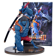 Banpresto Craneking Colosseum King Anime One Piece Action Figures Nightmare Luffy PVC Action Figurine Collection Model Toys