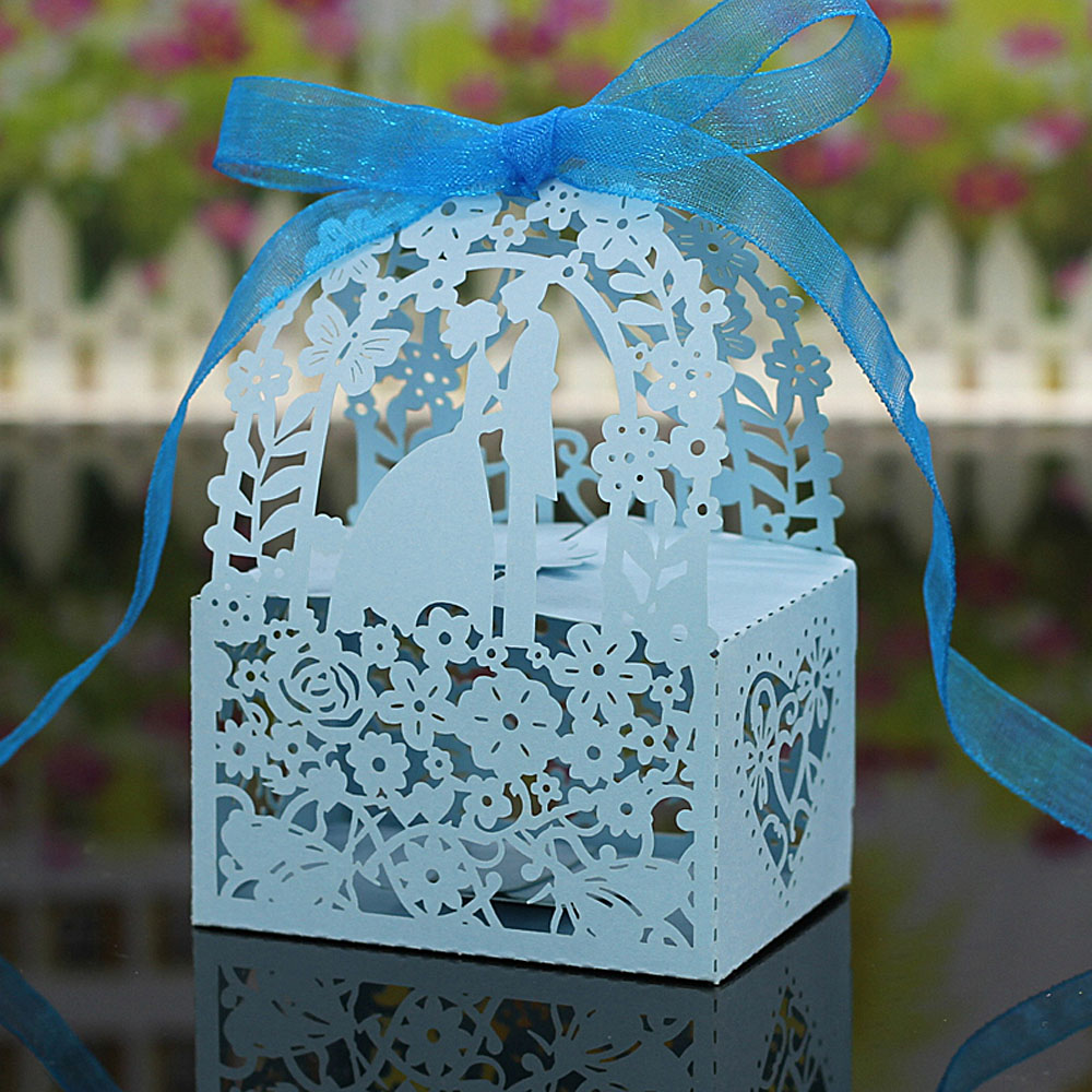 20PCS Laser Cut DIY Paper Gift Wedding Candy Box Party Wedding Favor Boxes Wonderful Gift Box Wedding Decoration(China (Mainland))