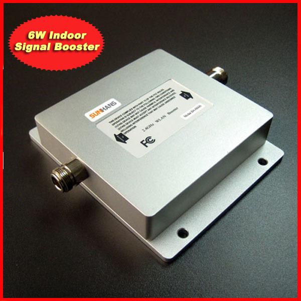 SUNHANS 2.4G 6W indoor (38dBm) WiFi Signal Booster signal repeater,wlan booster signal repeater Free Shipping
