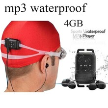 Cute mp3 waterproof free music downloads mp3 player with 4GB capacity for sports,running ,swiming(China (Mainland))