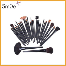 TOP Quality Professional 32 PCS Cosmetic Facial Make up Brush Kit Wool Makeup Brushes Tools Set