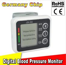 HOT!!! New Health Care Germany Chip Automatic Wrist Digital Blood Pressure  Monitor Tonometer Meter for Measuring And Pulse Rate(China (Mainland))