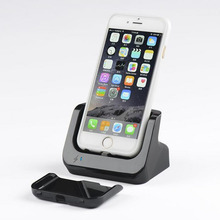 Hot sell For apple iPhone 6 4.7 charging dock charger with Data Sync cradle stand Docking Station