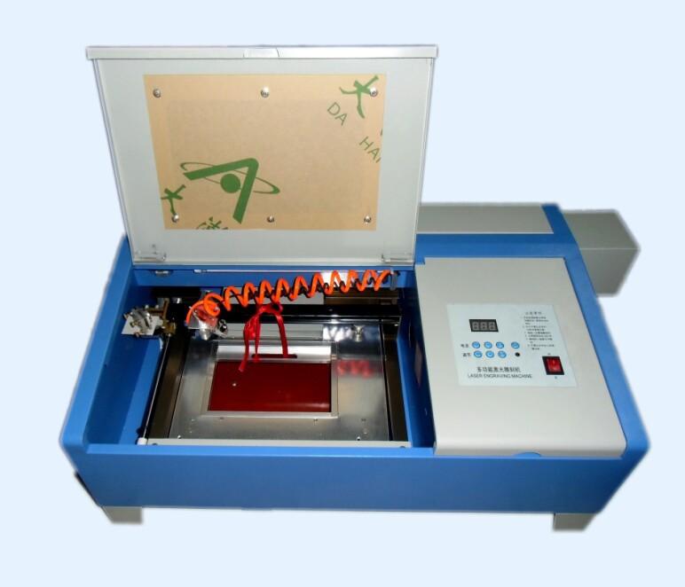 Free Shipping Version KT-3020 Laser Co2 40W CNC Laser Cutting Machine Laser Engraving Machine P1 configuration(China (Mainland))