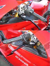CNC Long Brake Clutch Levers For Triumph Speed Triple 675 Street Triple R Daytona 675