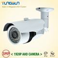 New Super 3MP 1920P HD Camera Surveillance CCTV Metal Bullet Outdoor Waterproof 36 infrared Night Vision