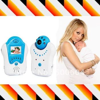 ir night vision Digital baby monitor 2.4ghz wireless control , Baby video monitoring care products Blue & Pink, Free shipping