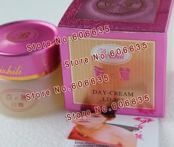 Original Baizhili Day Cream~remove dark spot  6 pcs~~Free Shipping