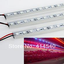 2015 Newest 10W 10PCS/LOT 0.5M (27Red+9Blue) LED Grow Light Bars Light Strips For Hydroponic Plant Flowers Vegatables Greens(China (Mainland))