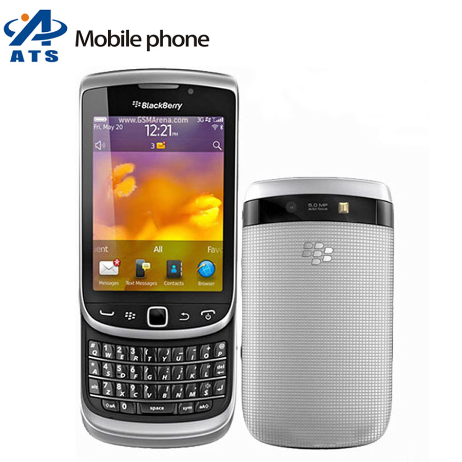 Original Blackberry 9810 Mobile Phone 3G GPS WIFI 5MP Camera 8GB Storage QWERTY Keyboard Cell phone(China (Mainland))