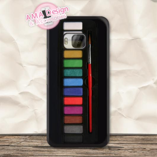 Watercolor Set Paint Box Hard Phone Case For Nexus 6 5 4 For HTC One X S MAX M9 M8 Desire 820 816 For LG G4 G3 G2 L90 L70(China (Mainland))