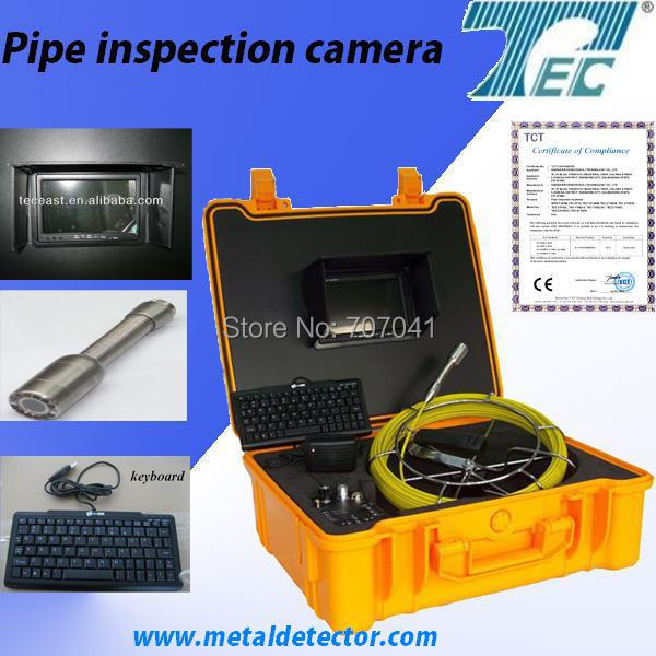 50m Cable Well Inspection Camera for Pipe  with DVR , Keyboard ,and Engineer Box TEC-Z710DK