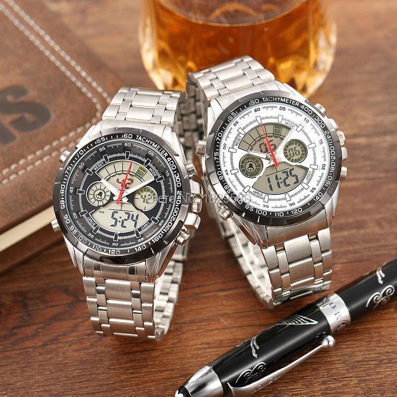 Micosum Brand Men's Watches Fashion Casual Full Steel Sports Watches  Waterproof Japan Quartz Wristwatch(China (Mainland))