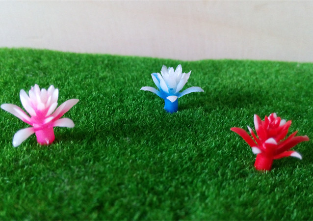 Architectural model flower, flower on the grass mat , sand model , flower in vase, scale flower(China (Mainland))