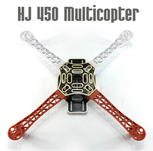 Buy F02192 HJ 450 Multicopter 450F nylon Fiber Frame Airframe kit Strong Smooth RC KK MK MWC DIY Quadcopter plane for $5.89 in AliExpress store