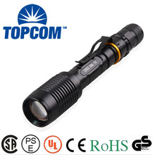 2014 new arrived ultrafire cree led u2 tactical police flashlight 5000 lumen