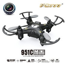 Hot Sale FQ777 Remote Control Mini 4 Channels 2.4GHz Anti-interference function 0.3MP camera RC Quadcopter Drone Toy(China (Mainland))