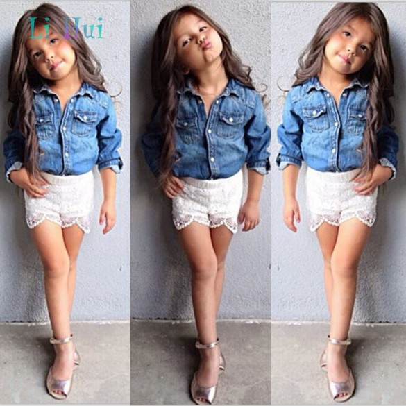 New Arrival 2015 European Style Children's Clothing Fashion Girls Set Spring Babies & Kids Outfits Brand Tracksuit Shor(China (Mainland))
