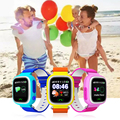 Child smart watch GPS wifi base station triple positioning sos emergency alarm compatible IOS and Android