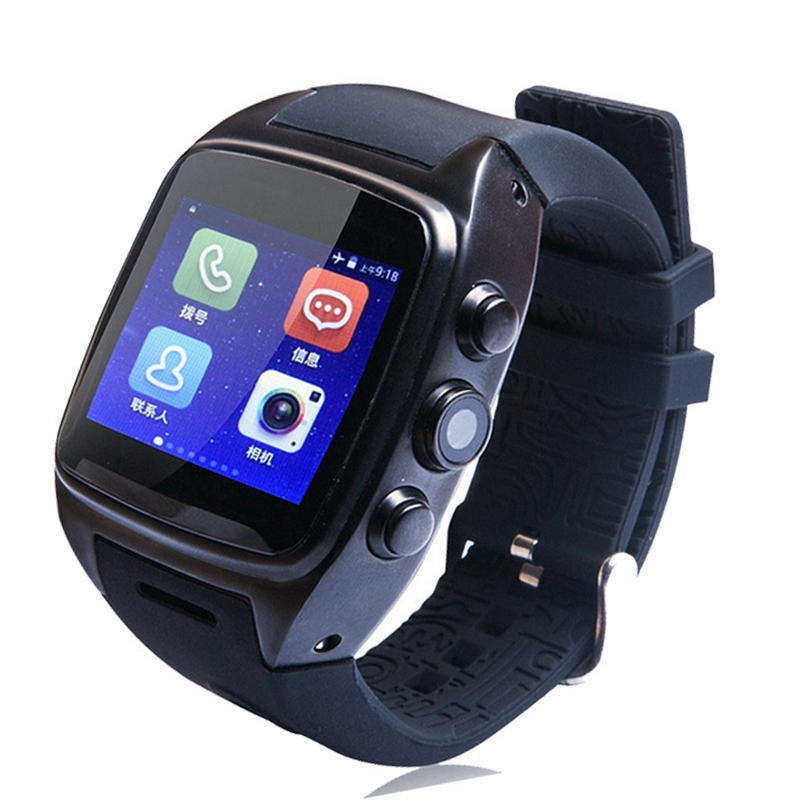 Smart Watch X01 Bluetooth4.0 Android GPS 2G/3G Dual Core 512 MB 4GB ROM Waterproof Pedometer support SIM card camera(China (Mainland))
