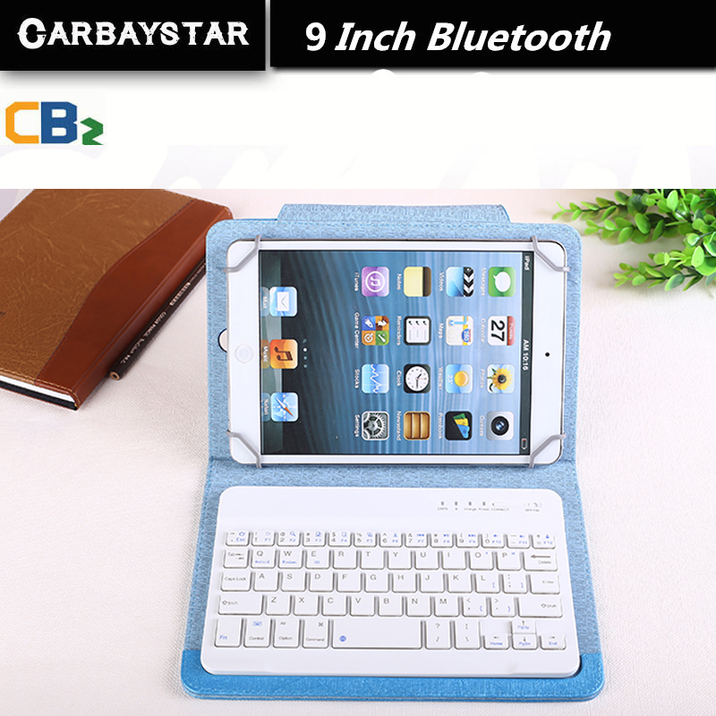 RUSSIAN Bluetooth KEYBOARD 9 inch tablet keyboard for Using Espana Language Leather Micro USB Keyboard to Plate Tablet Device(China (Mainland))
