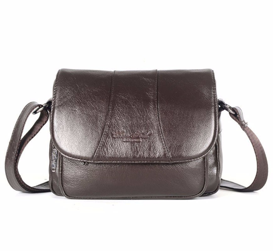 2015 cowhide women's bags first layer of genuine leather messenger bag female casual ladies handbag shoulder bag